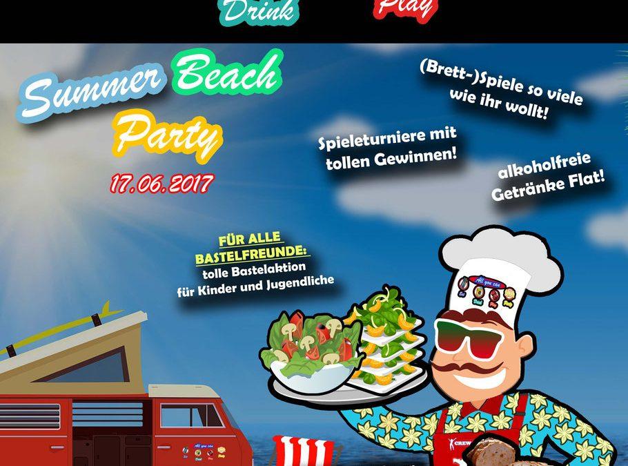 17.06.2017 – Summer-Beachparty