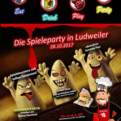 28.10.2017 – Halloween Warming-Up-Party