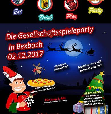 02.12.2017 – Weihnachtsparty