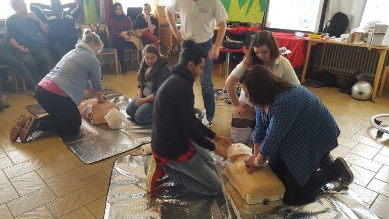 Erste-Hilfe-Kurs in Ludweiler