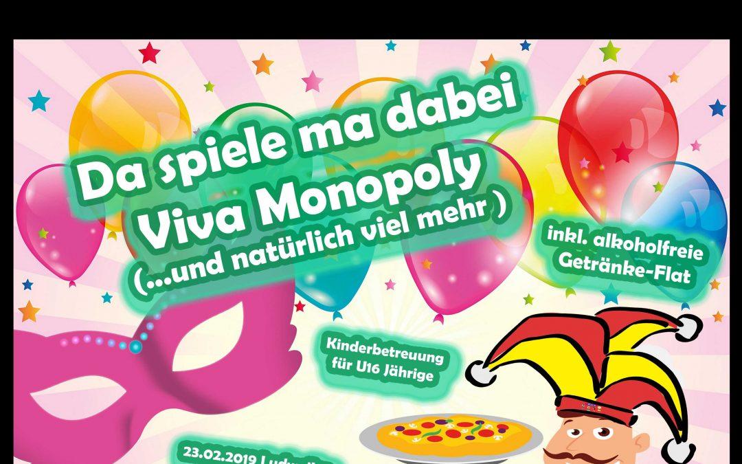 1.AYC Spieleparty – Da spiele ma dabei – Viva Monopoly