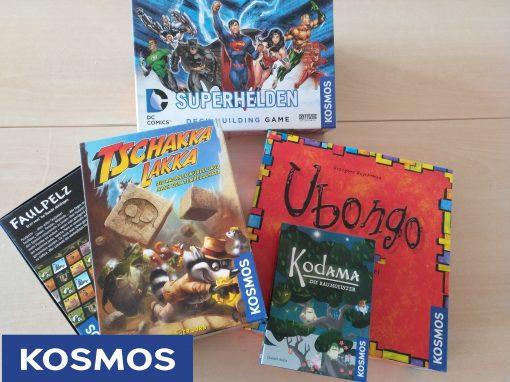 Spielespenden von Kosmos, Spieltrieb und Amigo