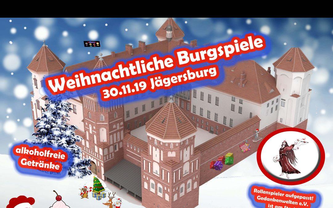 6 AYC Spieleparty – Jetzt gibt's was auf die Waffel! – Weihnachtliche Burgspiele