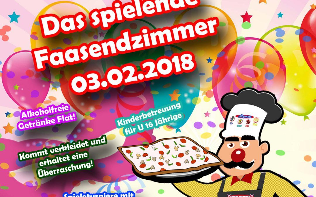 1. AYC Spieleparty – Faasendedition